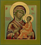 Alexander Bukharin - Tikhvin icon of the Mother of God