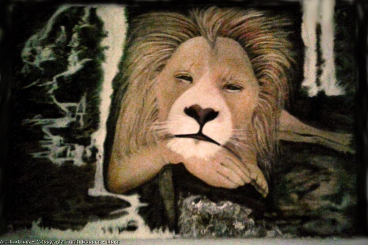 Artwork >> Triniti Dupons >> Lions
