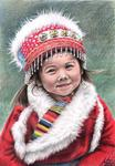 Arts And Dogs - Tibetan Girl