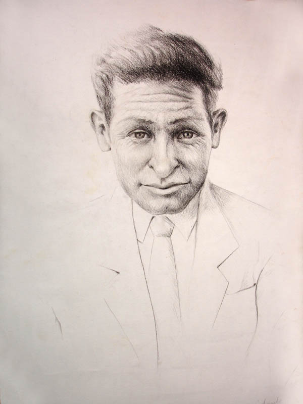 Artwork >> Aldo Carhuancho Herrera >> my grandfather