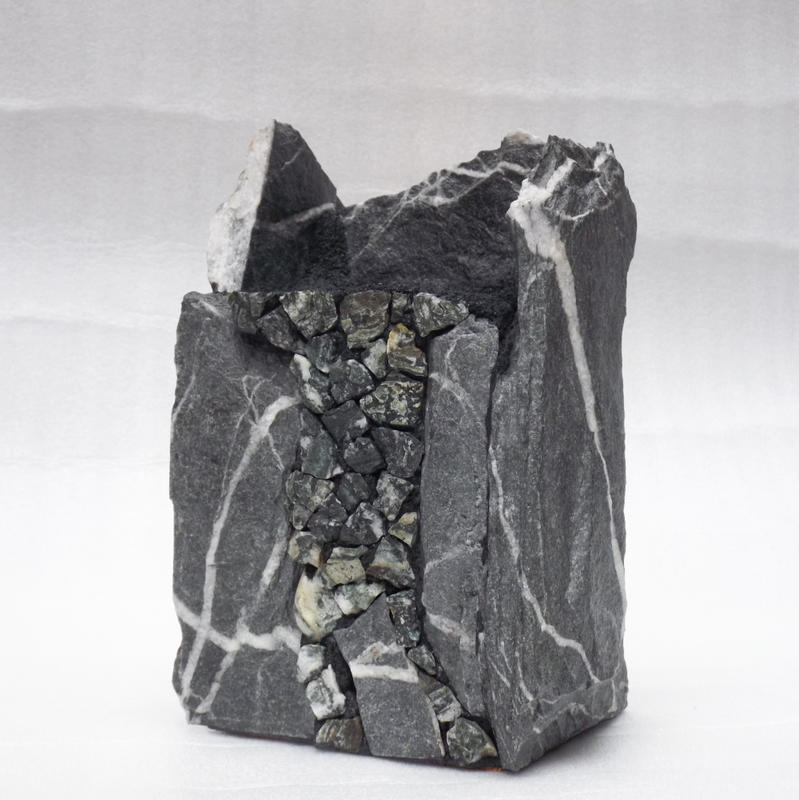 Artwork >> John Quinn >> Stone Vase with Dallasite
