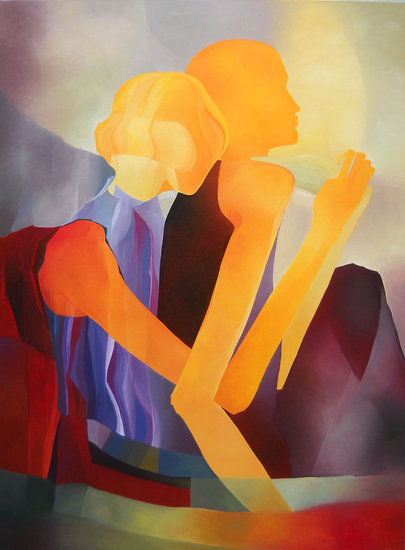 Artwork >> Costas Banu >> lovers