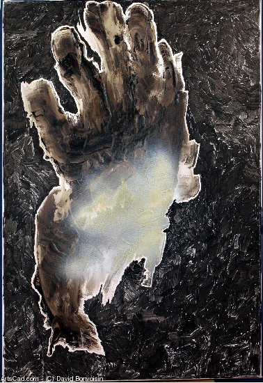 Artwork >> David Bonvoisin >> Erosion by hand