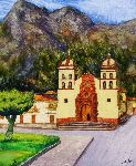 Aldo Carhuancho Herrera - the cathedral from huancavelica
