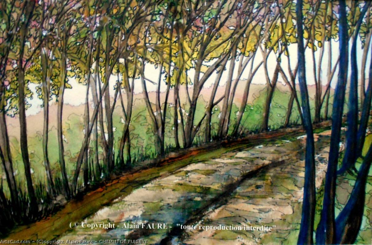 Artwork >> Alain Faure >> PATH TO PUISAYE