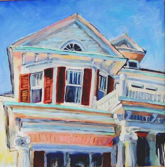 Artwork >> Judy Lynn >> Oakwood Perspective