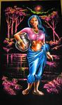 Sri Lanka Painter Sudath - Sri Lanka Vilage girl