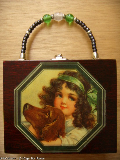 Artwork >> Cigar Box Purses >> Girl's Best Friend