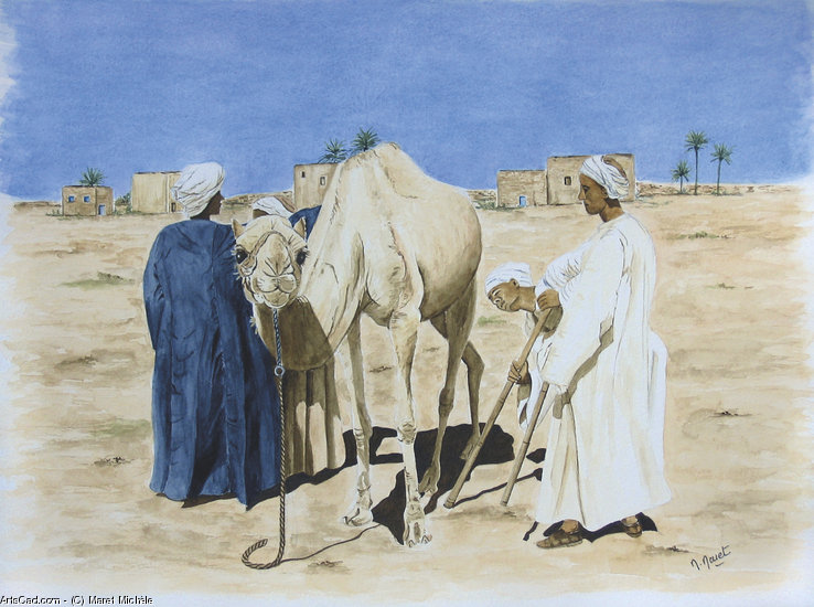 Artwork >> Maret Michèle >> SAHARA : SALE THE CAMEL
