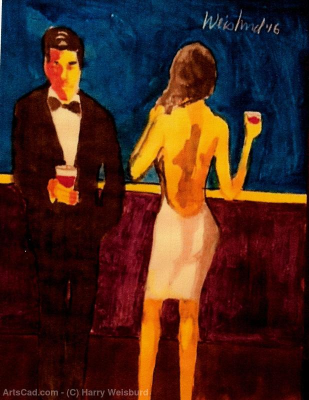 Artwork >> Harry Weisburd >> Happy Hour 3