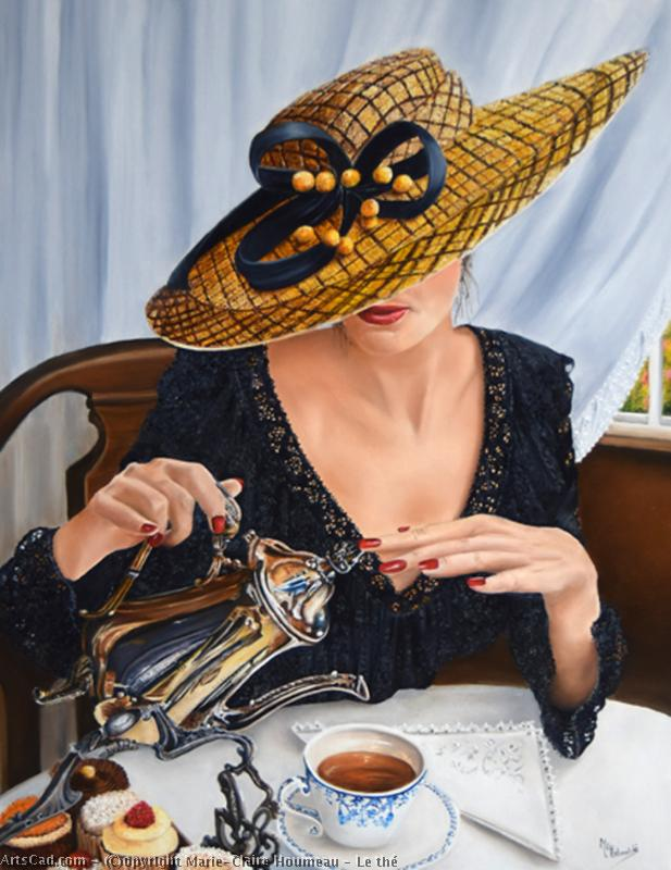 Artwork >> Marie-Claire Houmeau >> The Tea