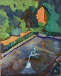 Glynis Berger - Fountain in Summer