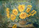 Jean Dubelloy - The sunflowers