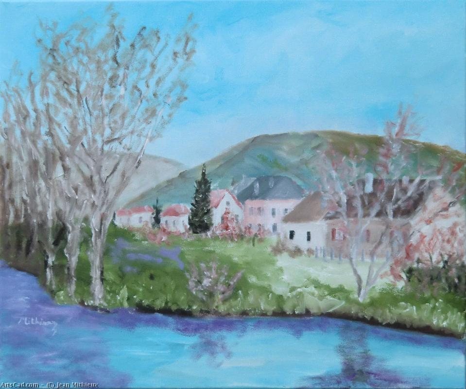 Artwork >> Jean Mithieux >> The Canal
