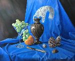 Vlad Kirak - Still life in blue