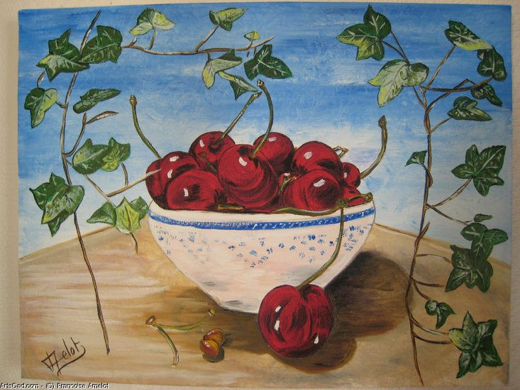 Artwork >> Francoise Amelot >> the Dance from cherries