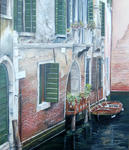 Marie-Claire Houmeau - a small corner  from  Venice