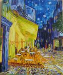 Sonney Christiane - Van Gogh - Cafe Terrace at night in Arles