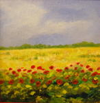 Yvan Ferrari - Poppies in