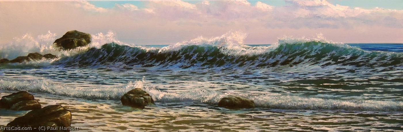 Artwork >> Paul Narbutt >> The Breaking Wave