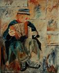 Pol Ledent - Clown playing accordion