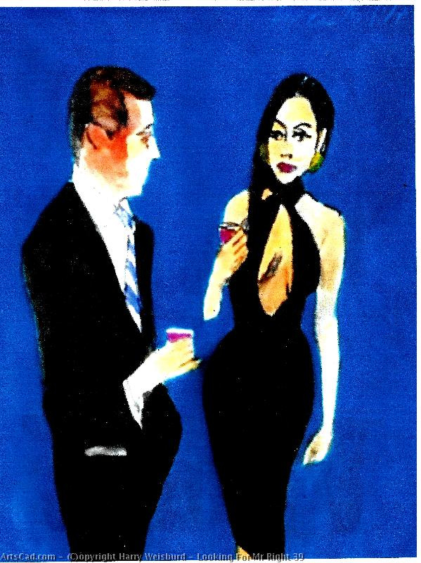Artwork >> Harry Weisburd >> Looking For Mr Right 39