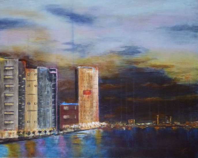 Artwork >> Gisèle Grana >> Reflections on the city