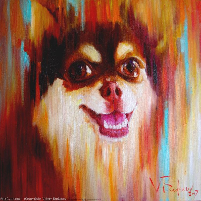 Artwork >> Valery Budanov >> Dog -   Ulybaka