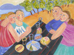 Linda Sharpe - Picnic At the Lake
