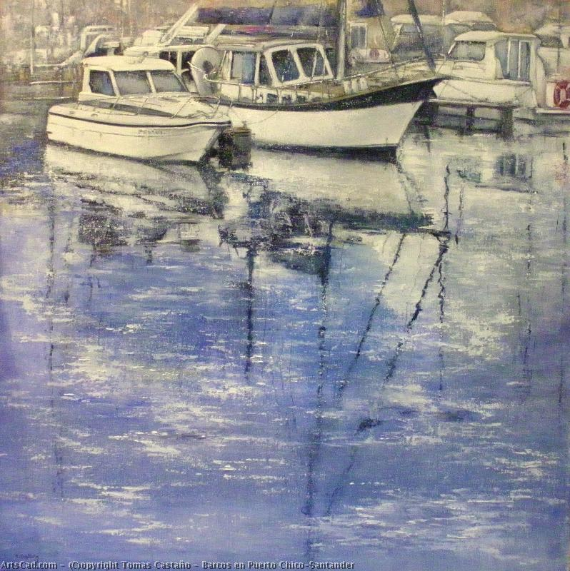 Artwork >> Tomas Castaño >> Boats for Port Chico-Santander