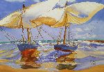 Loraine Yaffe - Beached Boats