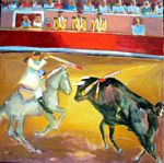 Chevassus-Agnes - bullfight
