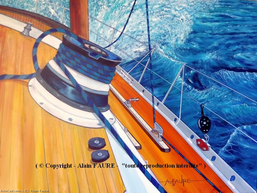 Artwork >> Alain Faure >> WINCH At STARBOARD