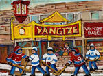 Carole Spandau - YANGTZE RESTAURANT AND HOCKEY GAME