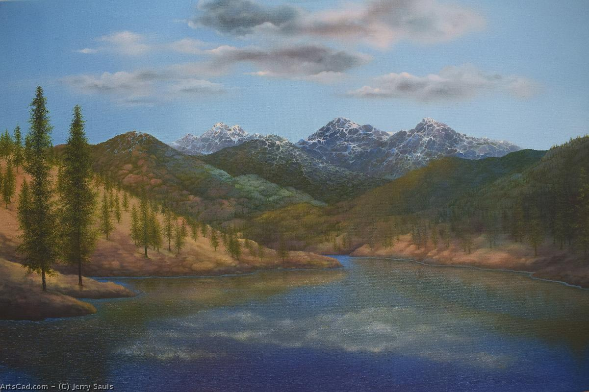 Artwork >> Jerry Sauls >> Seasons of The Great Land
