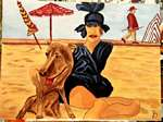 Yfig - On the beach deauville 1900