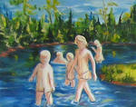 Denise Gagnon - bathing summer 58