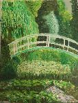Giorgia Belvisi - The japanese bridge ( copy of Monet )