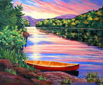 Reine Deveault - At the park from there Mauricie