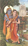 Classical Indian Art Gallery - RADHA KRISHNA
