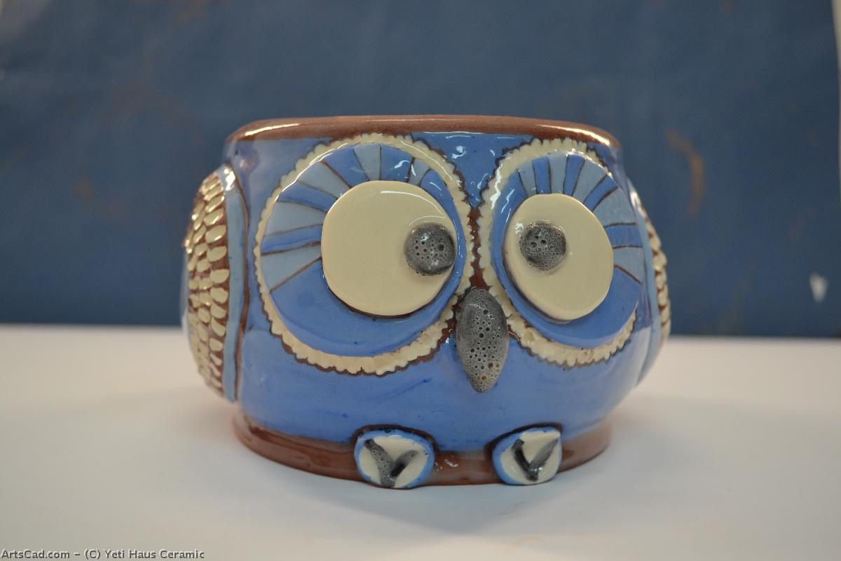 Artwork >> Yeti Haus Ceramic >> Pot for kvіtіv bird ( hsin )