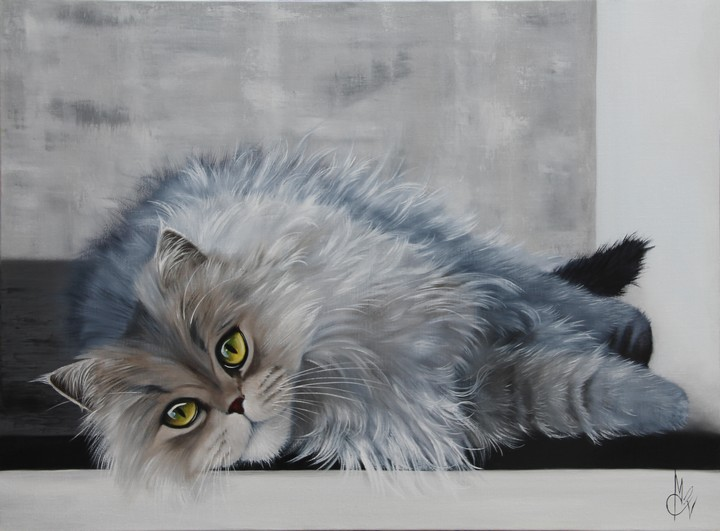 Artwork >> Chantal Rousselet >> Beauty Chat