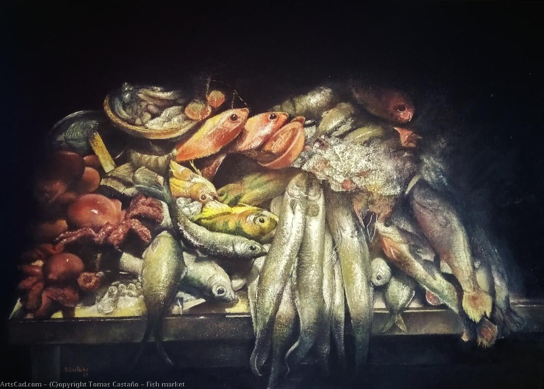 Artwork >> Tomas Castaño >> Fish market
