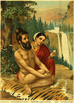 Classical Indian Art Gallery - OLEOGRAPH PRINT by RAVI VARMA