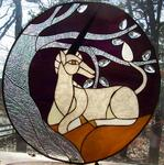 Suncatcher Creations Stained Glass - Unicorn