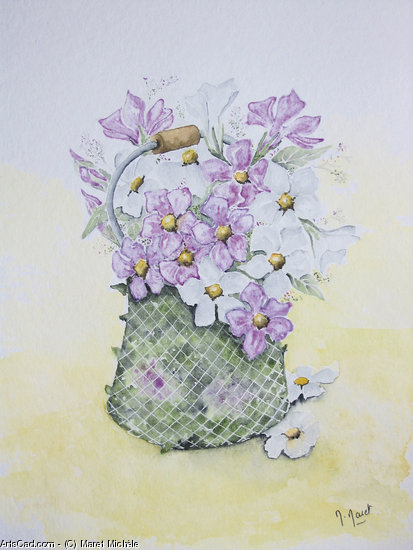 Artwork >> Maret Michèle >> SALAD FLOWERS