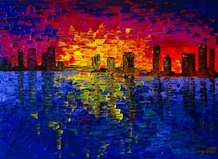 Artwork >> Sergey Parfenuk >> Evening music of Miami