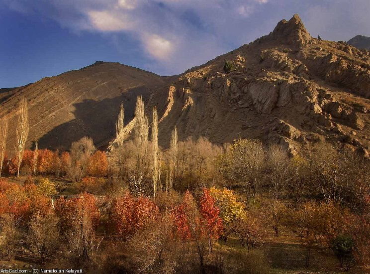 Artwork >> Nematollah Kefayati >> Garmabdar region near Tehran
