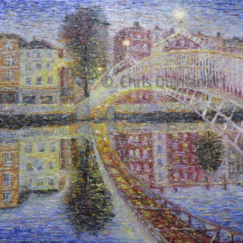 Artwork >> Chris Quinlan >> Ha'penny Bridge