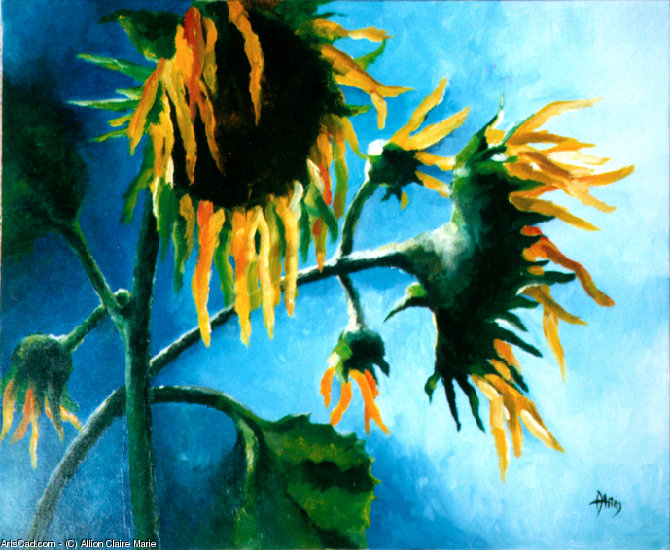 Artwork >> Allion Claire Marie >> Sunflowers